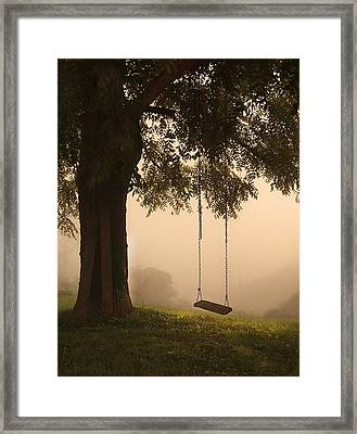 Country Swing Framed Print by William Schmid