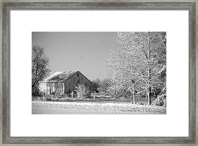 Country Framed Print by Thomas Fouch