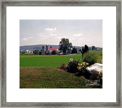 Country Views Framed Print by Timothy Clinch