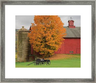 Country Wagon Framed Print by Bill Wakeley