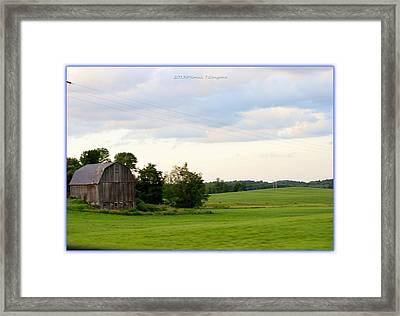 Countryside Charm Framed Print