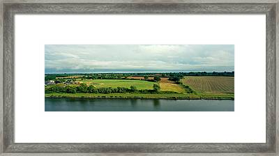 Countryside, Kiel Canal, Kiel Framed Print by Panoramic Images