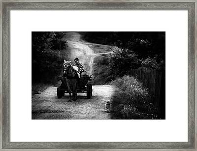 Countryside Life Framed Print