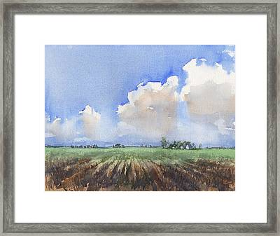 Countryside Framed Print by Max Good