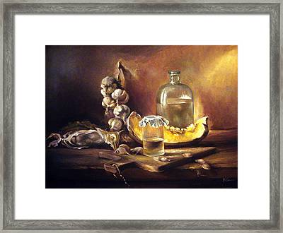 Countryside Still Life 2 Framed Print
