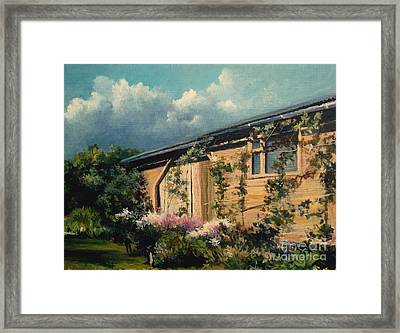 Countryside Summer Framed Print