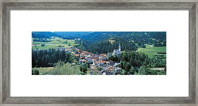Countryside Switzerland Framed Print