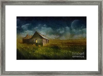 Countryside Wonder Framed Print by Barbara R MacPhail