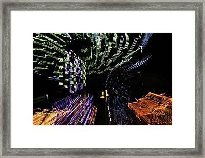 County Fair Abstract Framed Print