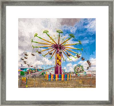 County Fair Framed Print by Beverly Parks
