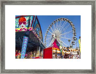 County Fair Fun 1 Framed Print