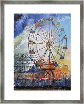 County Fair Framed Print