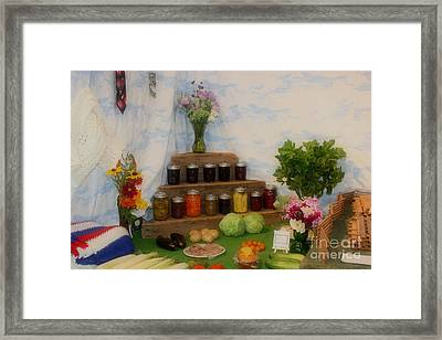 County Fair Prize 2 Framed Print
