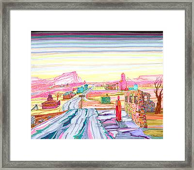 County Seat Framed Print