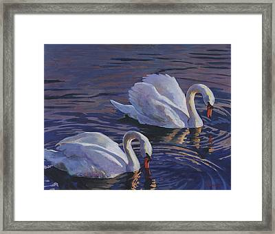 Couple Framed Print by David Randall