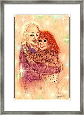 Couple In Love Framed Print