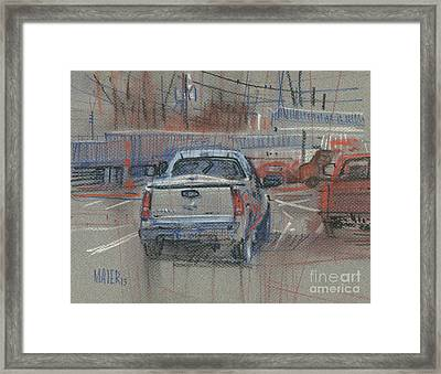 Couple Of Chevys Framed Print by Donald Maier