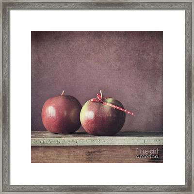 Couple Framed Print by Priska Wettstein