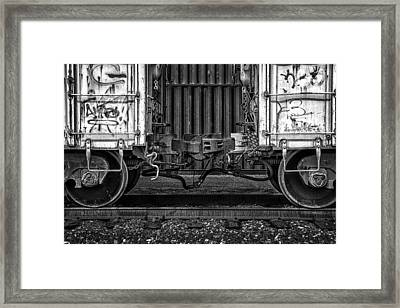 Coupled In Ride Mode Framed Print