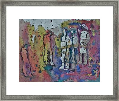 Couples Framed Print by Mark Greenhalgh