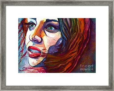 Courage Framed Print by D Renee Wilson
