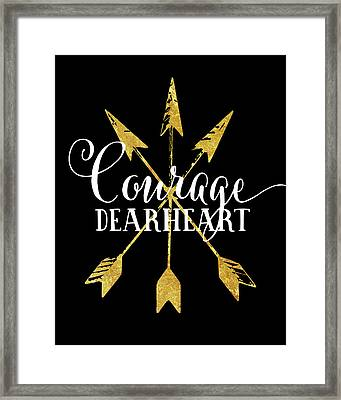 Courage Dearheart Framed Print by Amy Cummings
