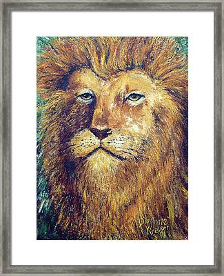 Courage Framed Print by Doug Kreuger