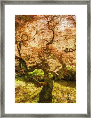 Courage Tree Framed Print