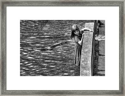 Courageous Child Framed Print