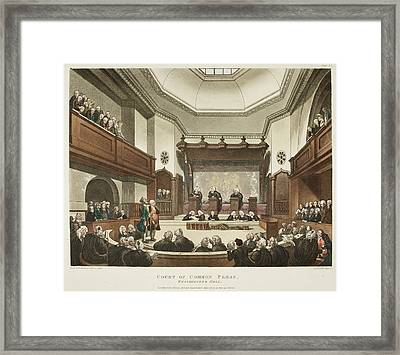 Court Of Common Pleas Framed Print