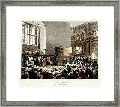Court Of Exchequer Framed Print