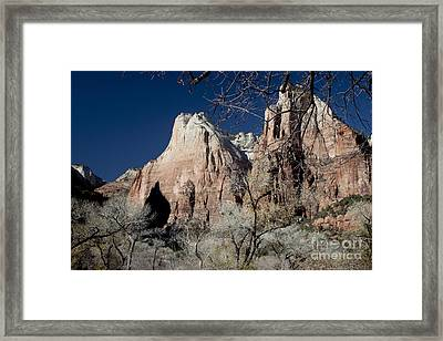 Court Of Patriarchs Framed Print by Ivete Basso Photography