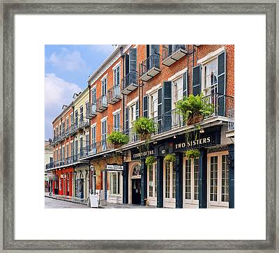 Court Of Two Sisters New Orleans Framed Print by Christine Till