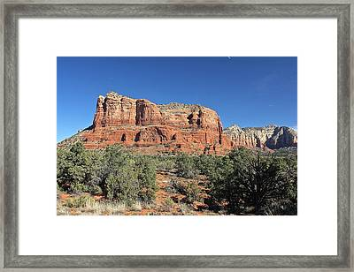 Courthouse Butte Framed Print by Penny Meyers