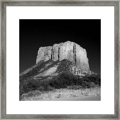 Courthouse Butte Sedona Framed Print