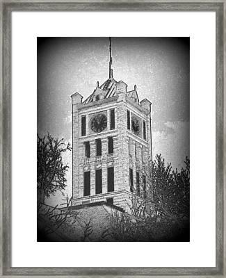 Courthouse Clocktower 5 Framed Print