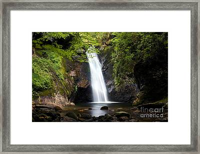 Courthouse Falls I 2010 Framed Print by Matthew Turlington