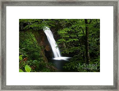 Courthouse Falls II 2010 Framed Print