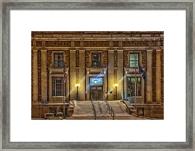 Courthouse Steps Framed Print by Paul Freidlund