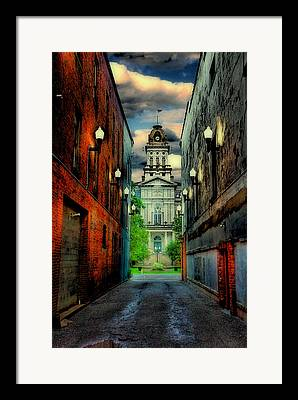 County Seat Framed Prints