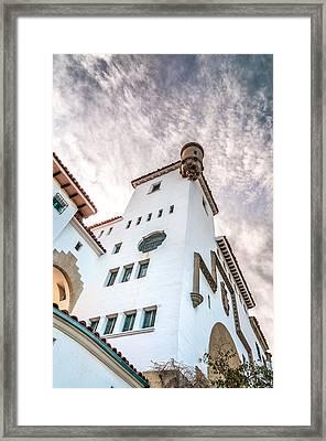 Courthouse Turret Framed Print