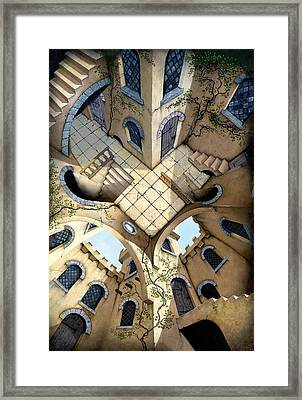 Courtyard Framed Print by Irvine Peacock