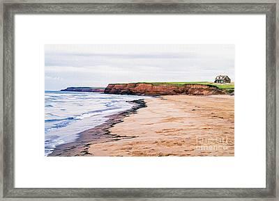 Cousins Shore Prince Edward Island Framed Print by Edward Fielding