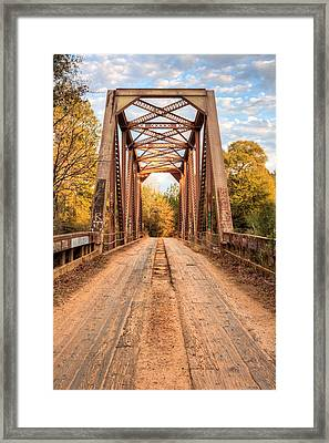 Coutry Roads In Brooklyn Framed Print by JC Findley