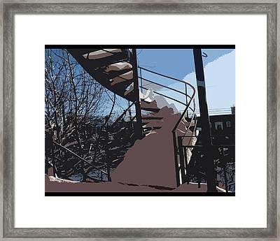 Couverture D'hiver Framed Print