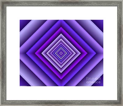 Covariance  11 Framed Print