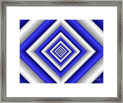 Covariance  3 Framed Print
