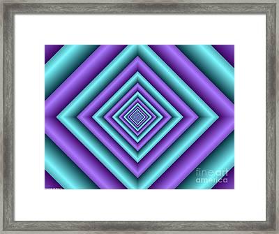 Covariance  5 Framed Print