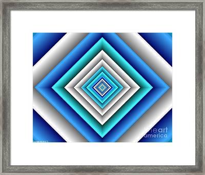 Covariance  7 Framed Print