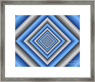 Covariance  8 Framed Print